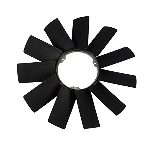 A-Premium Engine Radiator Cooling Fan Blade for BMW E31 E32 E34 E38 E39 530i 540i 840Ci 850Ci 740i 750i iL 11521712110 (E38 Cooling)