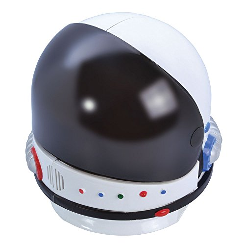 Bristol Novelty BH648 Astronaut Helmet, Mens, Multi-Colour, One Size