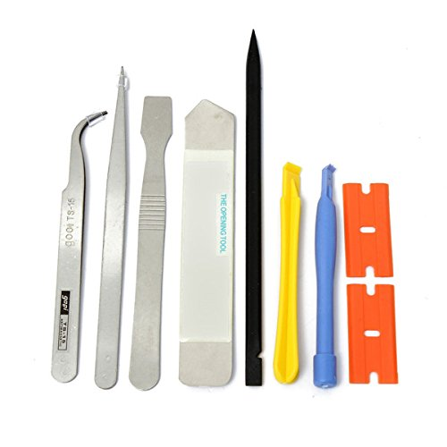 Price comparison product image 9 in 1 Repairing Opening Pry Tools For Cell Phone Laptop Repair Kit