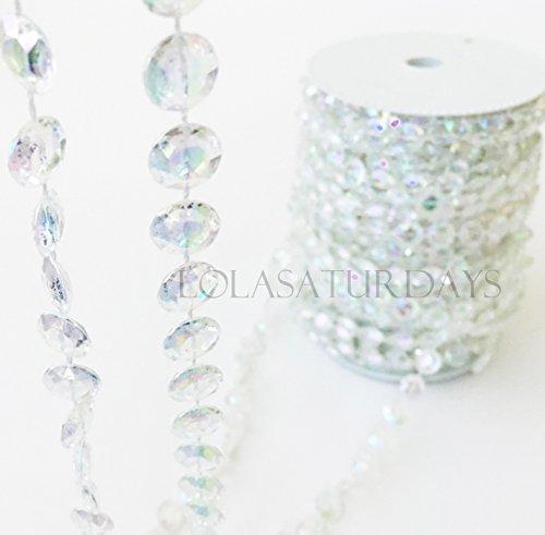 crystal garland roll - 5