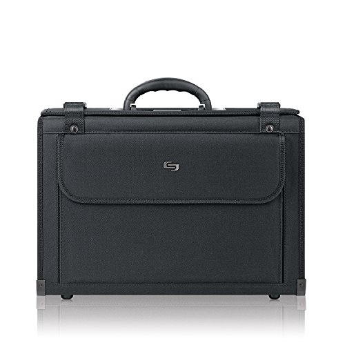 Solo Classic 16 Inch Laptop Catalog Case, Black (Laptop Catalog Case)