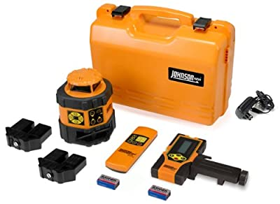 Johnson Level and Tool 40-6537 Self-Leveling Horizontal Rotary Laser Level