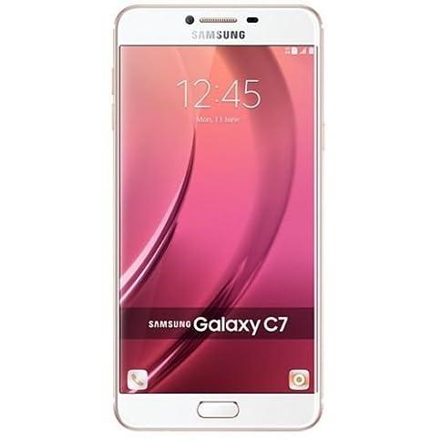 - 41xqSNh0cOL - Samsung Galaxy C7 C7000 32GB 5.7″ GSM Unlocked Cellphone (Pink) – International Version No Warranty