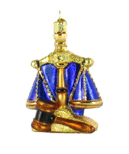Scales Justice Ornament Old World product image