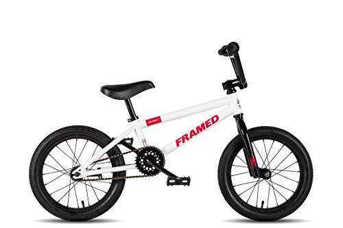Framed Impact 16 BMX Bike White/Black Kids Sz 16in