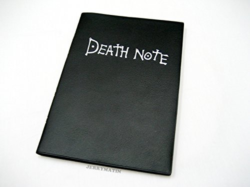 1 X Death Note Notebook Cosplay Book & Metal L Necklace &Feather by ALL in