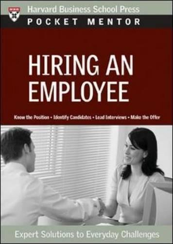 Hiring an Employee