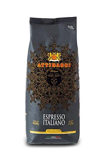 Attibassi Café en Grano Italiano, Miscela 1918, 1000 g