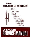 1969 Olds Supreme 442 Cutlass 88 Toronado Shop Service Repair Manual Book Engine