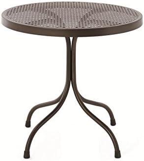 Mesa para cafetería, redonda, de 75 cm de diámetro, de metal, para ...
