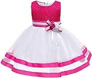 Jup'Elle Little Baby Girl Dress Flower Ruffles Party Wedding Pageant Princess Dre