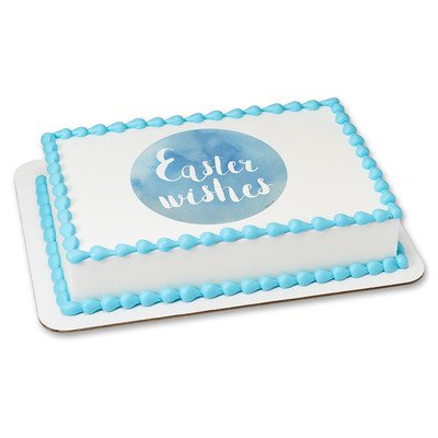 Easter Edible Icing Image for 1/4 sheet cake