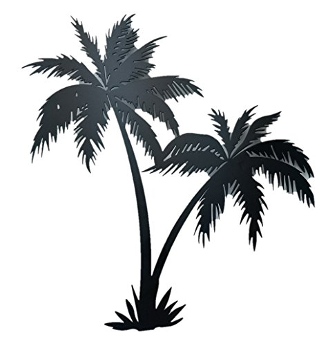 Bookishbunny Wrought Tropical Decoration Plaque product image