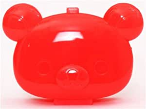 Pastillero mini caja plástico roja oso Rilakkuma San-X