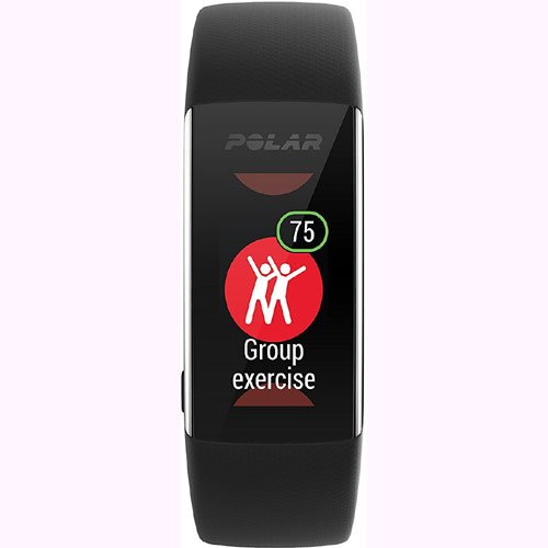 Polar A370 Waterproof GPS Fitness Tracker with Wrist Based HR - Black / Medium-Large w/ Cinch Travel Bag by Polar (Image #6)