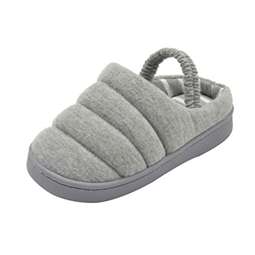adb8782e871 Image of Toddler Boys Girls Cute Cartoon Animals Slippers Cozy Winter Warm  House Shoes (8.5