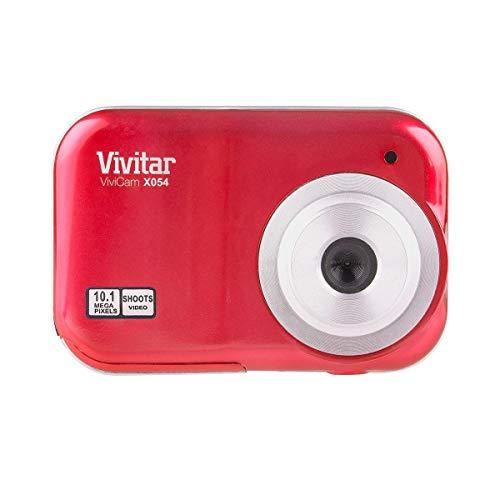 Vivitar ViviCam X054 10.1MP Digital Camera, Red