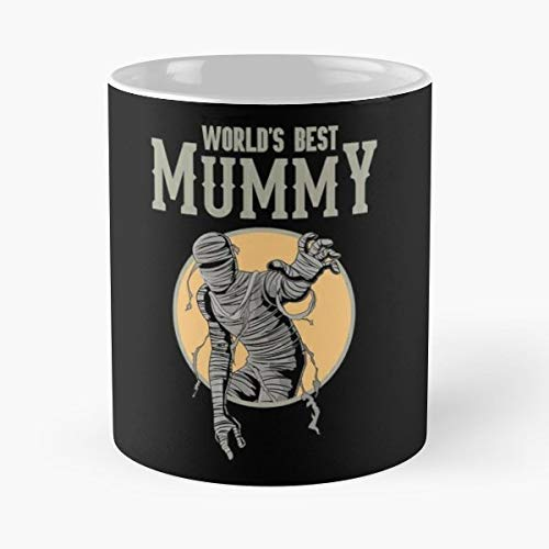 Mummy Costume Egypt King Funny Floral Coffee Mugs Gifts]()
