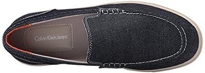Ck Jeans Men's Zeus Denim Slip-on Loafer