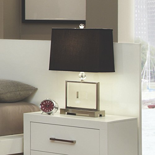 Coaster Home Furnishings 202992P Back Panel for Contemporary Nightstand, White (Jessica Coaster Collection Bedroom)