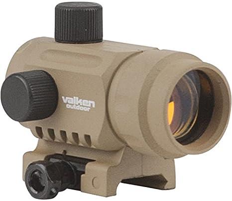 tan Valken V Tactical Red Dot RDA30