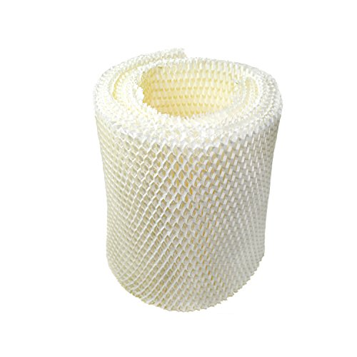 HQRP Humidifier Wick Filter for Kenmore 14906 EF1, Emerson MoistAir MAF1 Replacement, 42-14906 / 32-14906 + HQRP Coaster (Best Air Humidifier Filter Ef1)