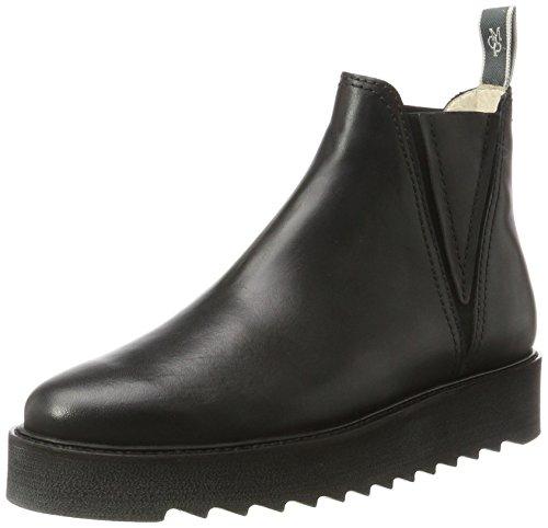 Heel Women's Flat Black Black Boots 70814245001125 Chelsea O'Polo Marc 5tqHwEvK