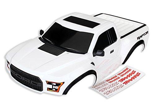 Traxxas Body - Ford Raptor White (Decals Applied) Slash 2WD