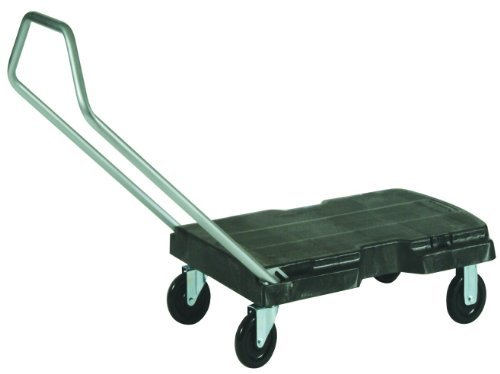 Rubbermaid Commercial Products FG440100BLA Triple Trolley (Standard Duty) by Rubbermaid Commercial Products (Trolley Triple)