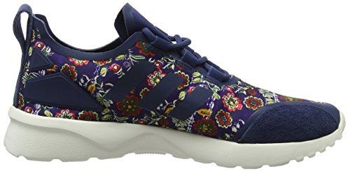 adidas Zx Flux Adv Verve, Zapatillas para Mujer Multicolor (St Dark Slate F13/st Dark Slate F13/core White)