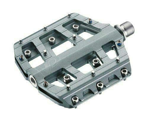 VP Components Vice Downhill or Freeride Pedals (Pack of 2) (9/16-Inch, Gray)