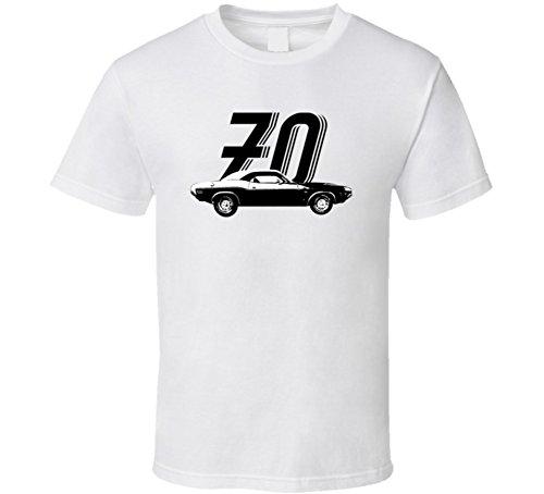 1970 Dodge Challenger Rt 440 7 2 V8 Vintage Car Year T Shirt XL White