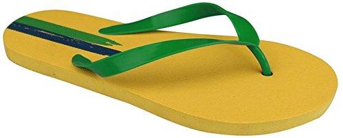 Waimea Zehslipper en el Mundial - amarillo
