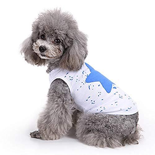 - Weiyun Pet Dog Puppy Classic Vest T-Shirt Dog Clothes Vest Apparel Clothes Summer