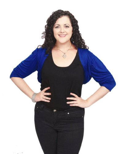 CANARI Women's Plus-Size Jax Bolero Shrug 2X (18/20) Royal