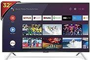 """Smart TV LED 32"""" HD Android SEMP 32S5300, Conversor Digital, Wi-Fi, Bluetooth, 1 USB, 2 HDMI, Comando de"""