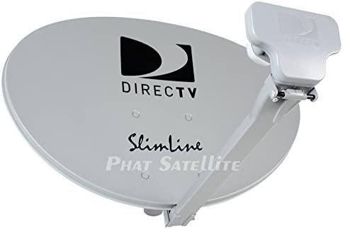 DIRECTV SWM3 Complete Portable Camping RV Tailgate KIT Slimline Dish SL3 with 3FT Tripod & COAXIAL RG6 & HDMI Cable for GENIES & H24, H25, HR34, HR44, H44
