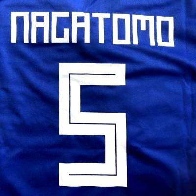 取得優れました墓?代引可?子供用 K044 日本代表 NAGATOMO*5 長友 佑都 青 19 ゲームシャツ パンツ付