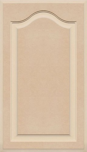 Unfinished Arch Top Cabinet Door in MDF by Kendor, 28 High x 16 Wide