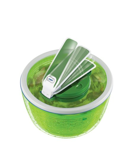 ZYLISS Smart Touch Salad Spinner, Green by Zyliss (Image #1)
