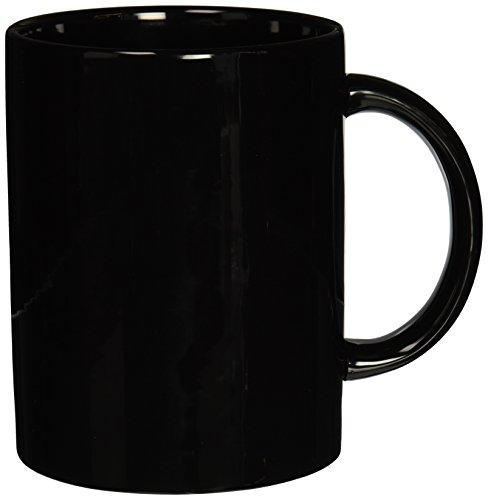 Darice Jumbo Coffee Mug, Black (Mug Jumbo Ceramic)