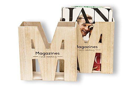 Zeitungsständer Zeitschriftenhalter Zeitschriftenständer Holz Design Magazines