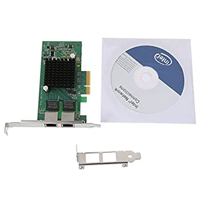 Tebatu Intel I350-T2-QY PCI-E 4X Server Dual RJ45 Port Gigabit Ethernet for LAN Intel i350AM2 1G Network Card