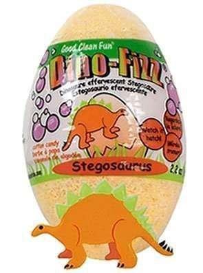 Egg Bath - Dino Fizz Hatching Stegosaurus Egg Bath Fizzy - 2.2 oz.