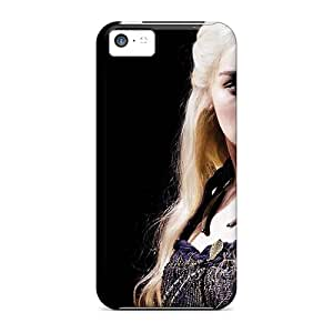 Iphone High Quality Tpu Case/ Emilia Clarke As Dany RJH1804LRaM Case Cover For Iphone 5c
