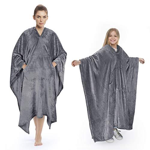Tirrinia Poncho Blanket Comfy