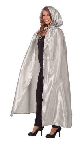 Forum Masquerade Cape, Silver, One Size Costume