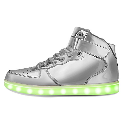 cc174d21324 low-cost RIY High Top Led Light Up Shoes 11 Colors Flashing Rechargeable  Sneakers for