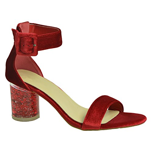 Cucu Femme Peep toe Red Fashion qSwaFHq