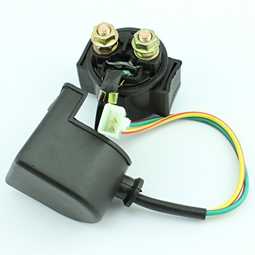 Sunl Atv Parts (Starter Solenoid Relay for Pit Dirt Bike ATV Quad 90cc 110cc 125cc Chinese 4-stroke Bikes 2 Pin 2pins)